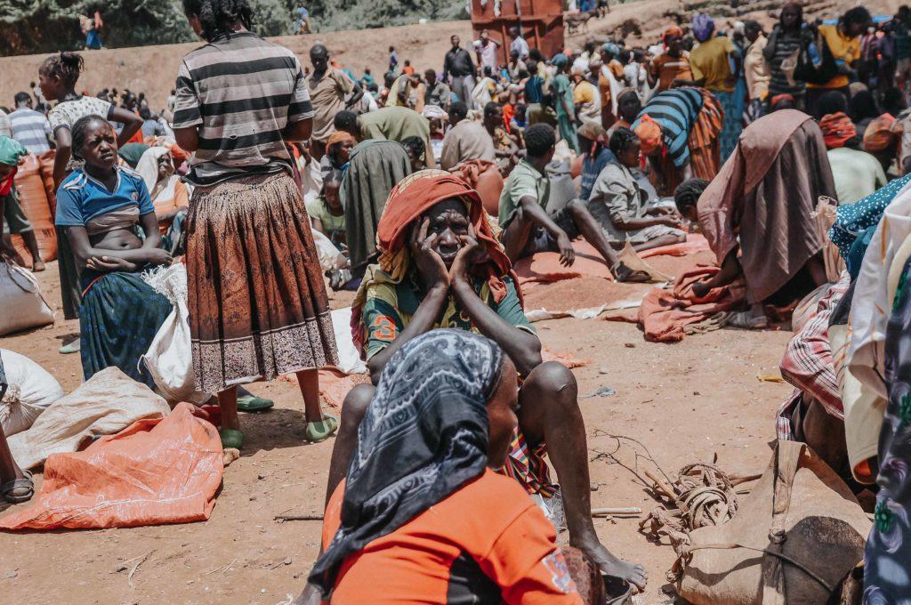 Mercado Tribu en Africa
