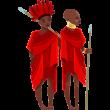 Masais niños