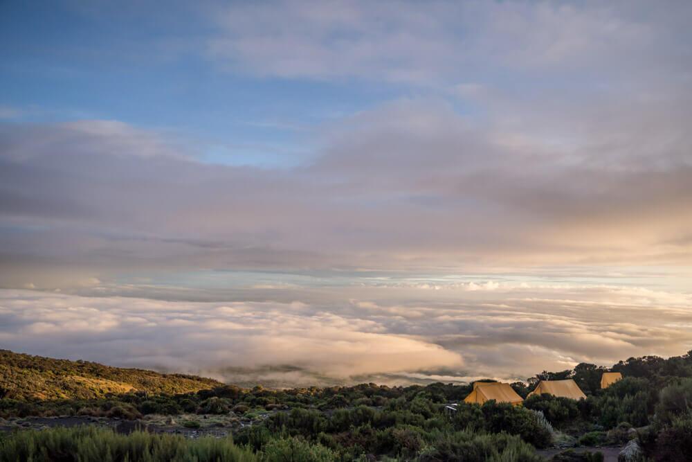 ascension trekking Monte Meru-africaatumedida-tanzania