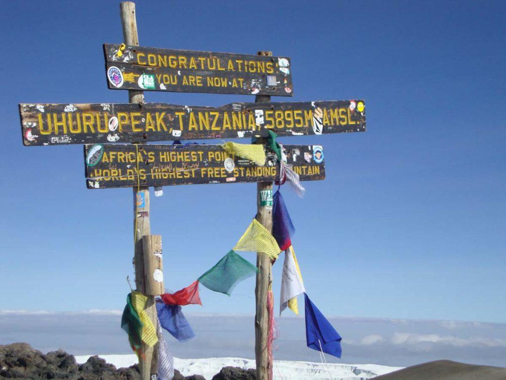 Cima Uhuru peak - Monte Kilimanjaro