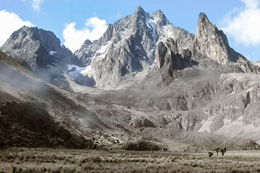 Ascension Monte Kenia