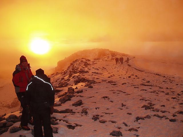 Aclimatacion o mal de alura en Kilimanjaro