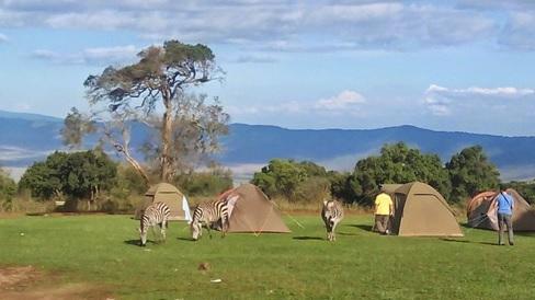 alojamiento camping tanzania