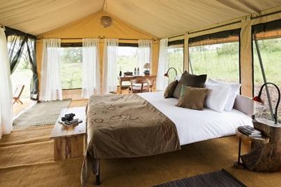 alojamiento tented camp tanzania