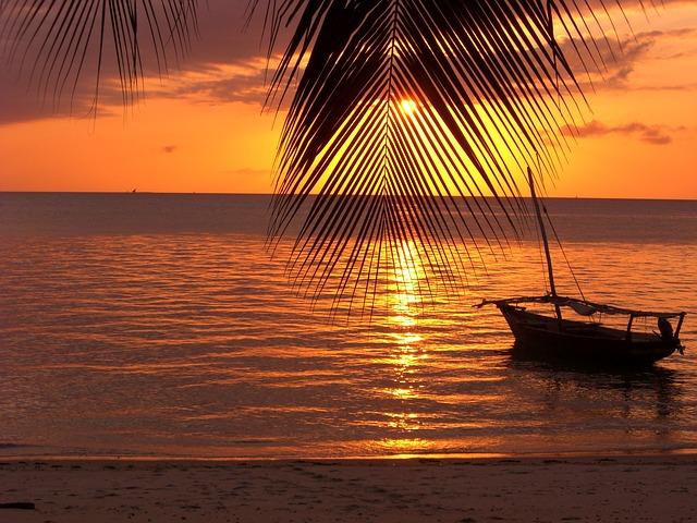 Puesta de sol Zanzibar